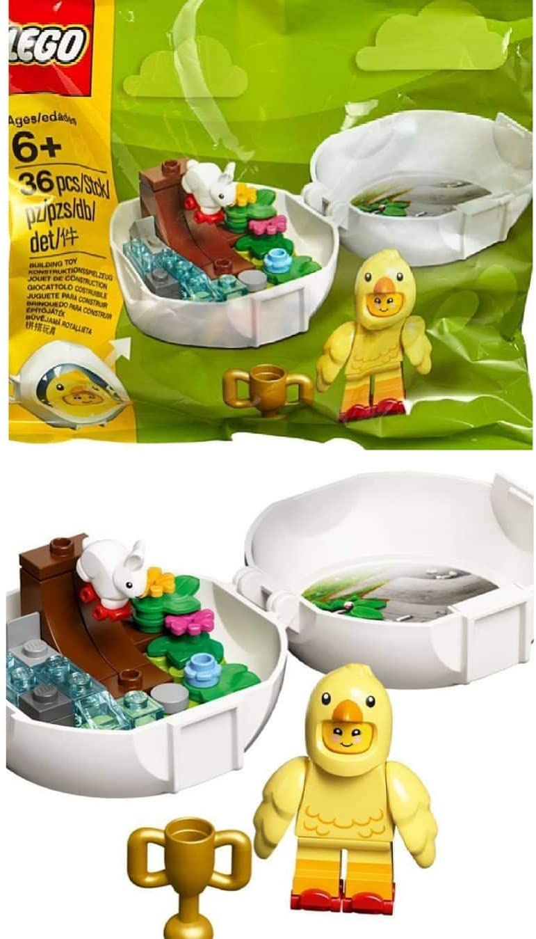 LEGO Easter Chicken Skater Pod 853958