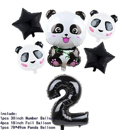 QUQUET 10 unids / Lote Vasos Desechables Panda de Dibujos ...