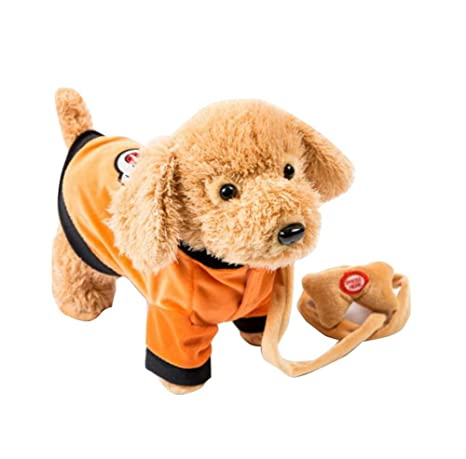 Amazon Com Electronic Plush Toy Dog Remote Control Machinery Pet