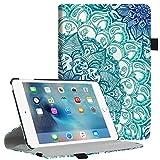 Fintie iPad Mini 4 Case - Multiple Angles Stand Case with Smart Cover Auto Sleep/Wake Feature for Apple iPad Mini 4 (2015 Release), Emerald Illusions