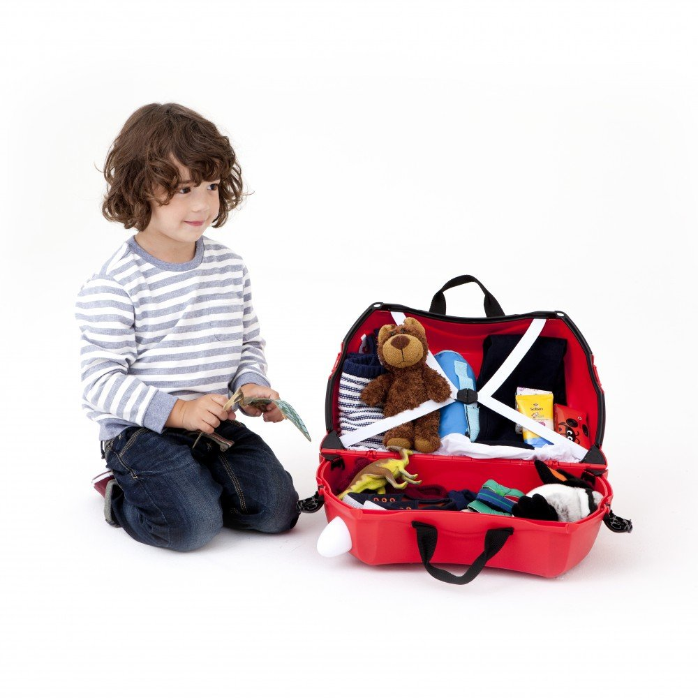 Trunki: The Original Ride-On Suitcase NEW, Boris The London Bus (Red) by Trunki (Image #2)