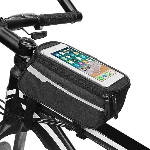 EisEyen - Bolsa para Bicicleta, Impermeable, Sensible al Tacto ...