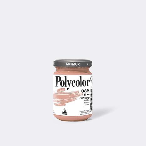 Maimeri M1220068 140ml Pot En Verre Corail Peinture Acrylique