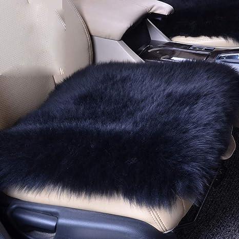 Amazon.com: U&M - Funda de asiento de coche de lana, suave ...