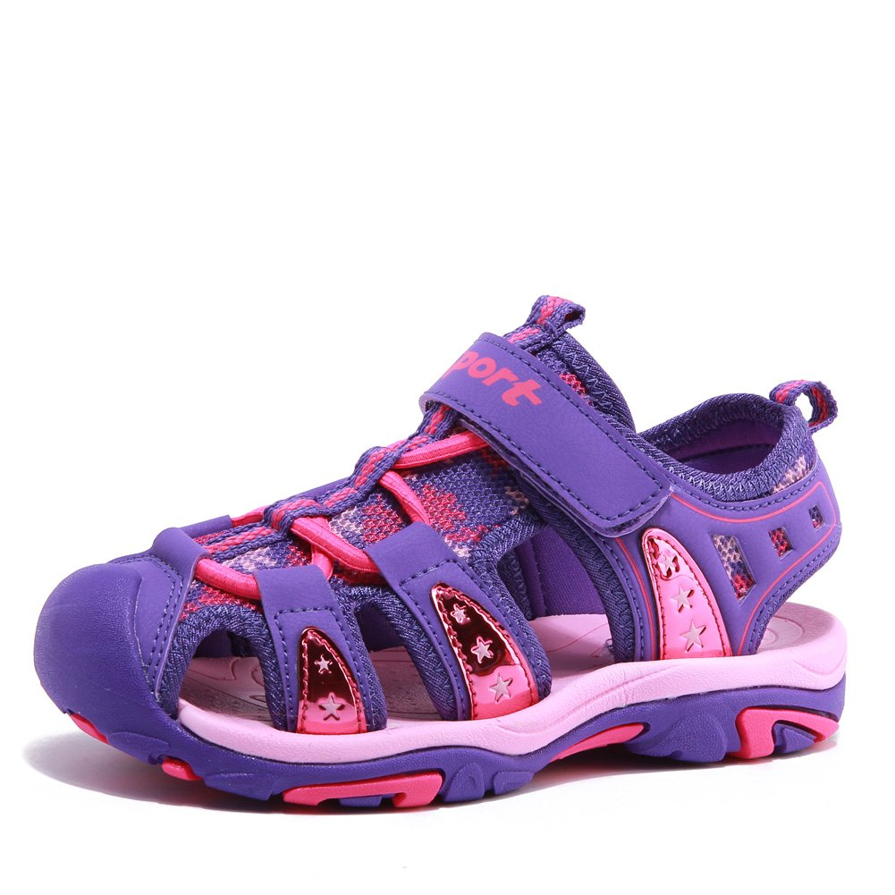 Fantiny Boy's and Girl's Sandals Outdoor Sport Closed-Toe Casual Shoes(Toddler/Little Kid/Big Kid) U118SLX018