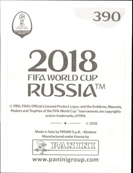390 Panini WORLD CUP 2018 Rusia-Admir Mehmedi Suiza no