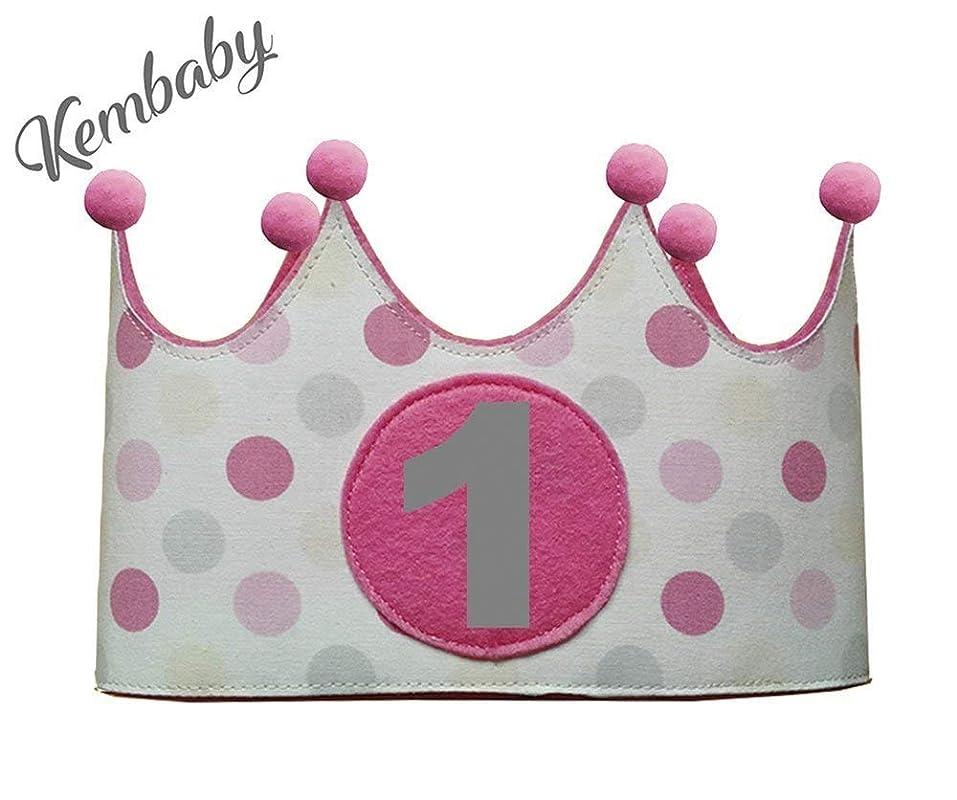 Corona primer cumpleaños 1 año para niñas: Amazon.es: Handmade