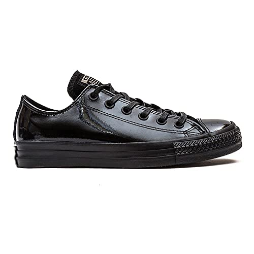 Converse All Star Ox Patent Leather Mujer Zapatillas Negro: Amazon.es: Zapatos y complementos