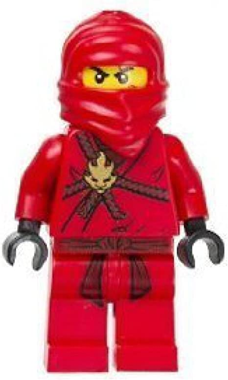 Kai (Red Ninja) Lego Ninjago Minifigure