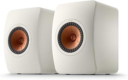 KEF LS50 Meta Altavoz de estantería Mineral White, Altavoz Monitor | HiFi | Cine en casa | 40-100 vatios