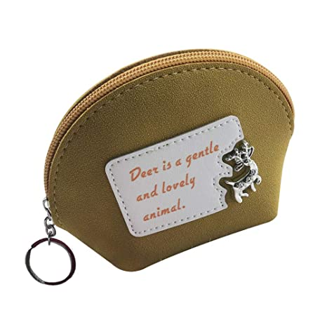 Ruikey monederos Mujer Animales Monedero Colgante Mujer monederos de Mujer para Monedas Carteras Mujer pequeñas con