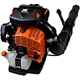 Echo PB-9010T 79.9 cc Backpack Blower Tube Mounted Throttle - Most Powerful Blower in The World - 1110 CFM - 220 MPH - Heavy-