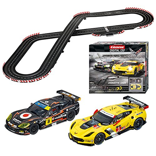 (Carrera Corvette Race Slot Car)