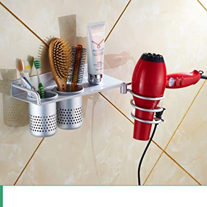 Hair Dryer Holder,Hair Dryer Shelf,Hair Blow Dryer Holder, Hair Dryer Rack