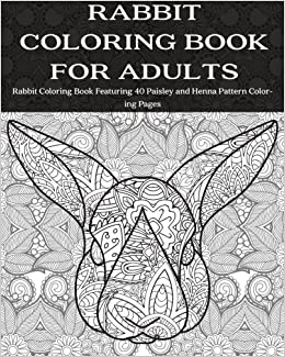 coloring books for adults on amazon rabbit coloring book for adults rabbit coloring book