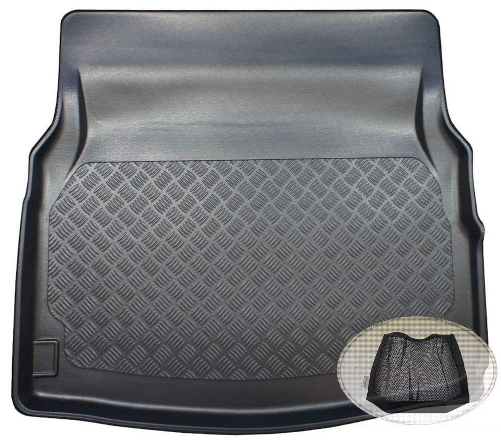 Laderaumwanne, Kofferraummatte ZentimeX Z3326947 Geriffelte Kofferraumwanne fahrzeugspezifisch Klett-Organizer