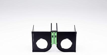 [スペースリー]Spacely折りたたみ式VRグラスVRゴーグル「カセット」(黒x緑)