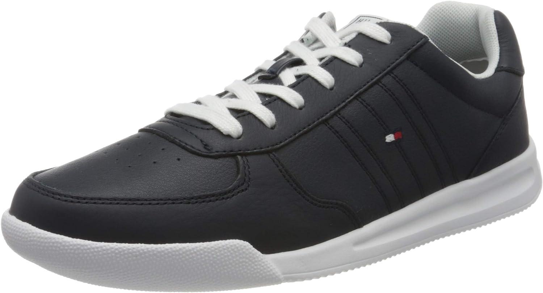 Tommy Hilfiger Lightweight Leather Sneaker, Zapatillas Hombre
