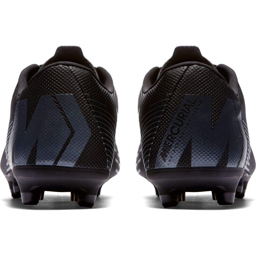 8d13a2dd87c Galleon - NIKE Mercurial Vapor 12 Academy MG Soccer Cleat (Black) (Men s  6.5 Women s 8)