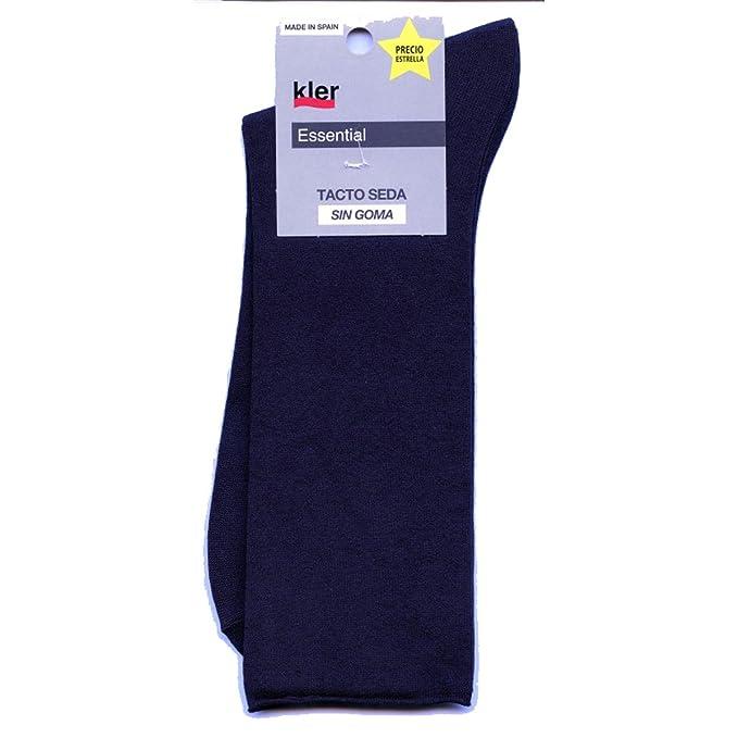 kler 6077 - pack de 3 calcetines microfibra sin goma COLOR SURTIDO: Amazon.es: Ropa y accesorios
