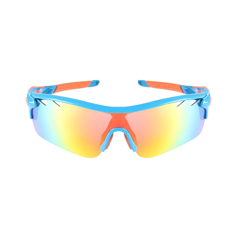 5a454c7f80 Hoter® nLite Vogue 5 lente Combo ciclismo bicicleta deportes Color gafas de  sol Multi colores ...