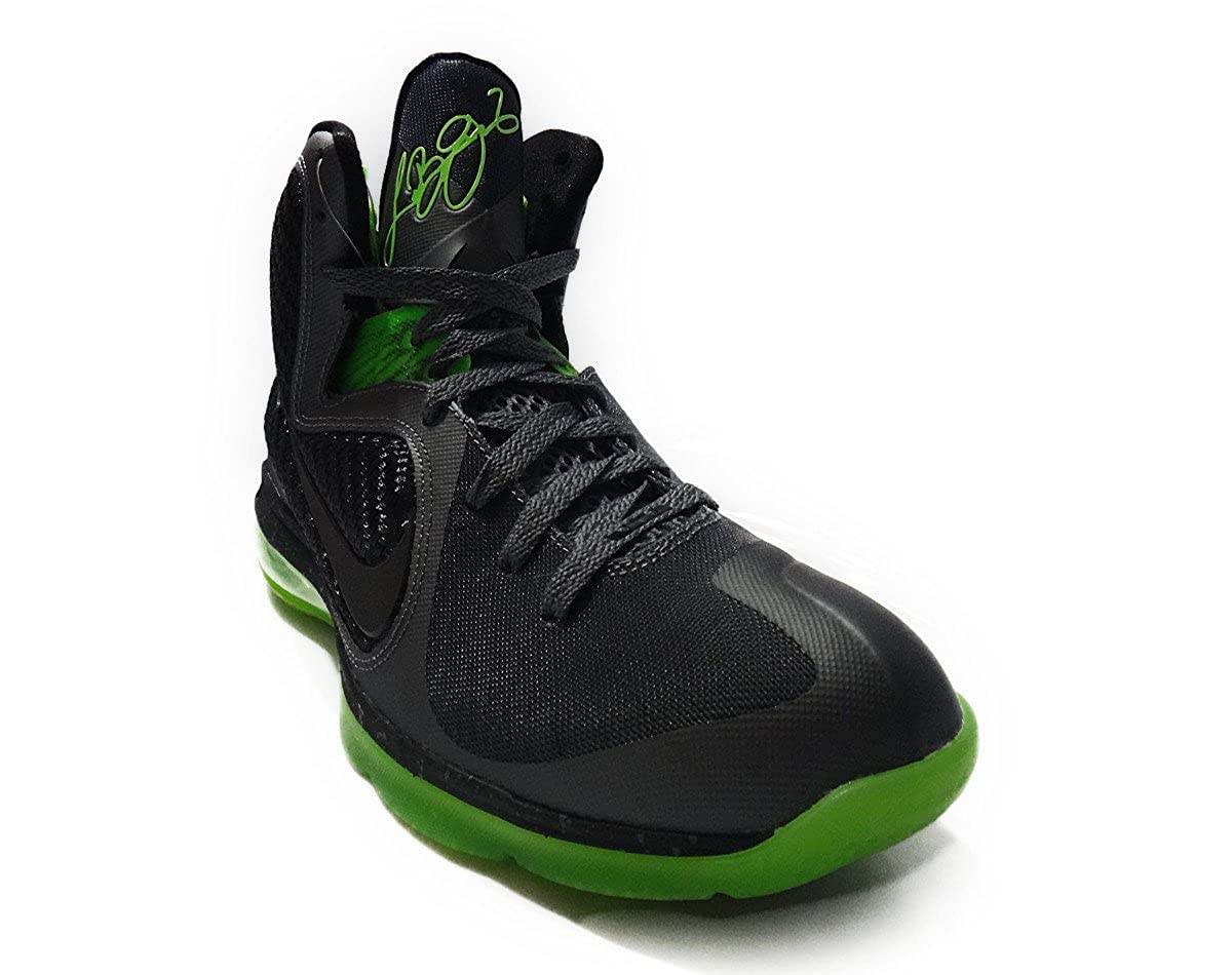 premium selection ee799 a12f7 Amazon.com   Nike Lebron 9 Dunkman with Swingman Halo (Dark Grey Black-Volt)  Size 8.5   Basketball