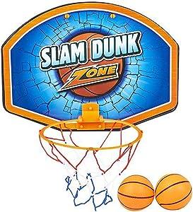 ArtCreativity Basketball Hoop Set, Includes 2 Mini Basketballs, 1 Net Hoop, & Mounting Brackets, Indoor Over The Door Basketball Set for Home, Office, Bedroom, Best Birthday Gift for Boys and Girls