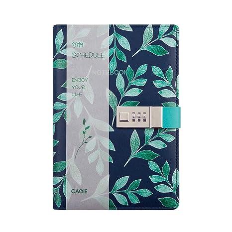 HFY-B Diario Notebook Organizador Personal Agenda 2019 ...