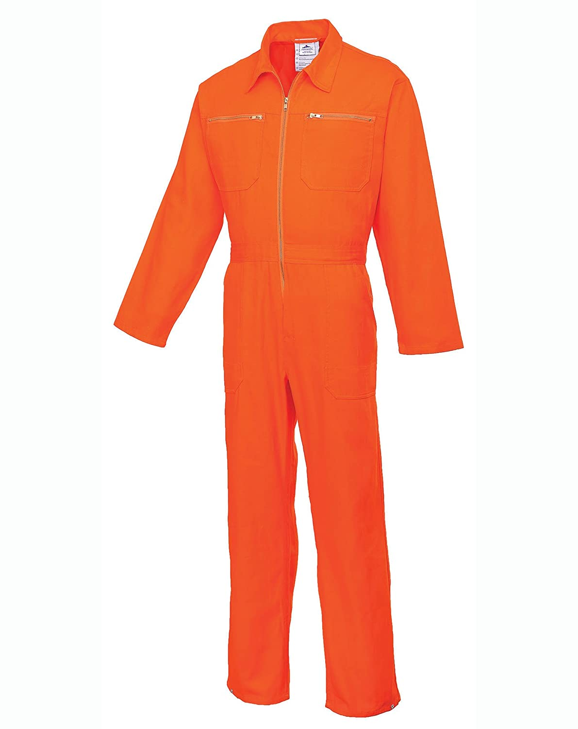 Portwest C811ORRXXXL Tuta Intera in Cotone Arancio 3 XL