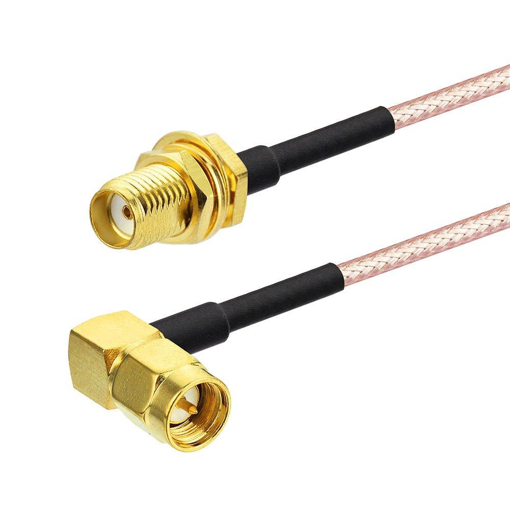 Eightwood Antenne 4G LTE SMA C/âble SMA Femelle /à TS9 M/âle avec 30cm 11.8inch RG174 SMA C/âble 2pcs pour Hsdpa Huawei 2G 3G 4G LTE Antenne UMTS Haut d/ébit Mobile
