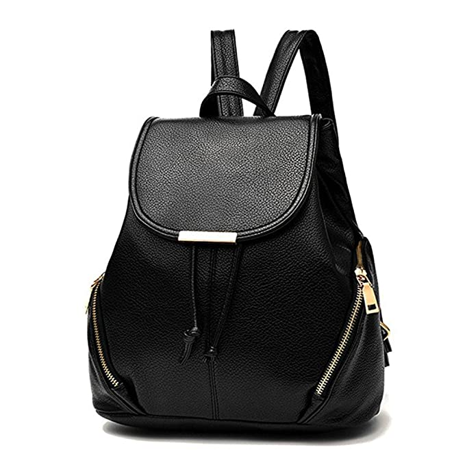 Image result for aiseyi Women's Pu Leather Backpack