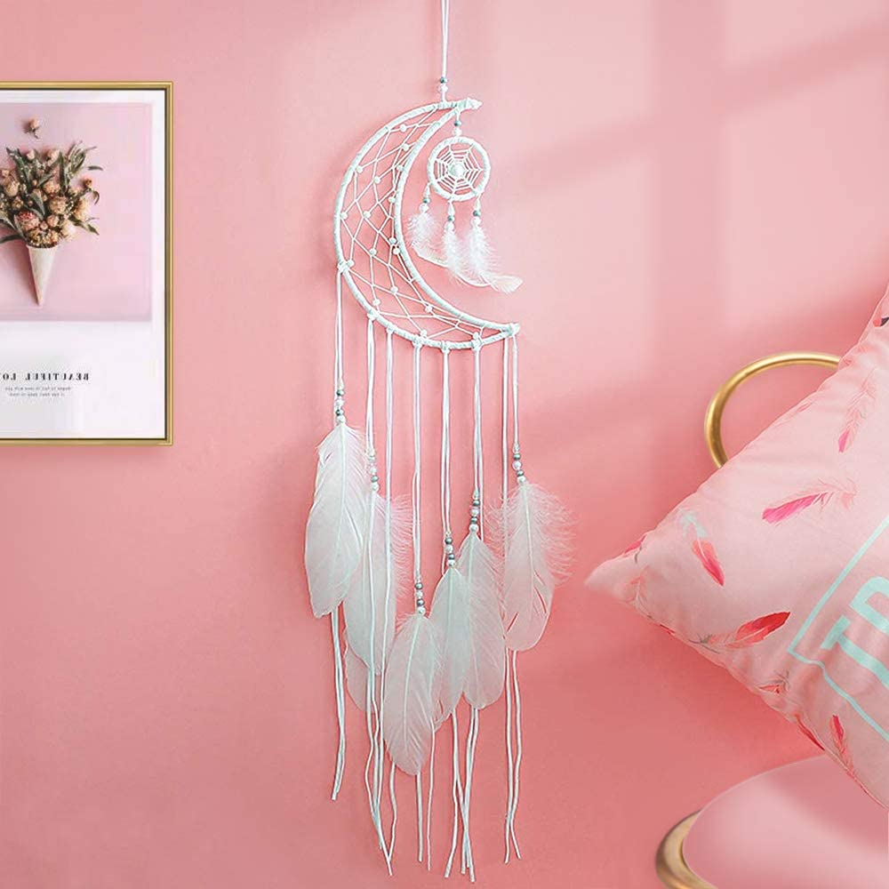 CHARM GARLAND DREAMCATCHER IRON RING CIRCLE ACCESSORY WEDDING PARTY EASTER DECOR