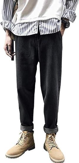 [Ksila]ジーンズ メンズ デニムパンツ ゆったり 大きいサイズ ストレートパンツ ワイド デニム ジーパン オシャレ シンプル Gパン ファッション ストレッチ ズボン