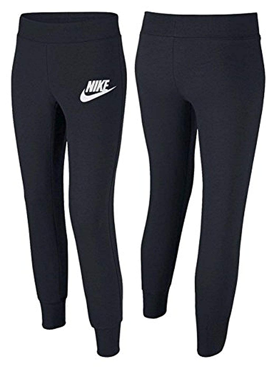 bcc8a697083d9 Amazon.com: Nike Girls Sweat Pants Joggers Tapered Cuff Youth 839194 ...