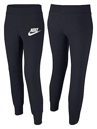 f5abee26518d Amazon.com  Nike Girls Sweat Pants Joggers Tapered Cuff Youth 839194 ...