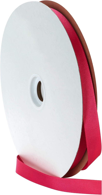 5//8-Inch Wide by 20-Yard Spool Black Offray Grosgrain Craft Ribbon