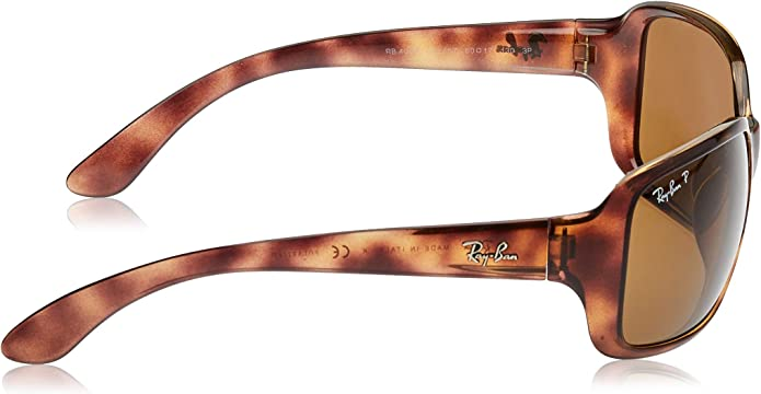 RB RB4171 Erika Sunglasses Black Sp Red//Green Gradient Brown 54mm /& Carekit