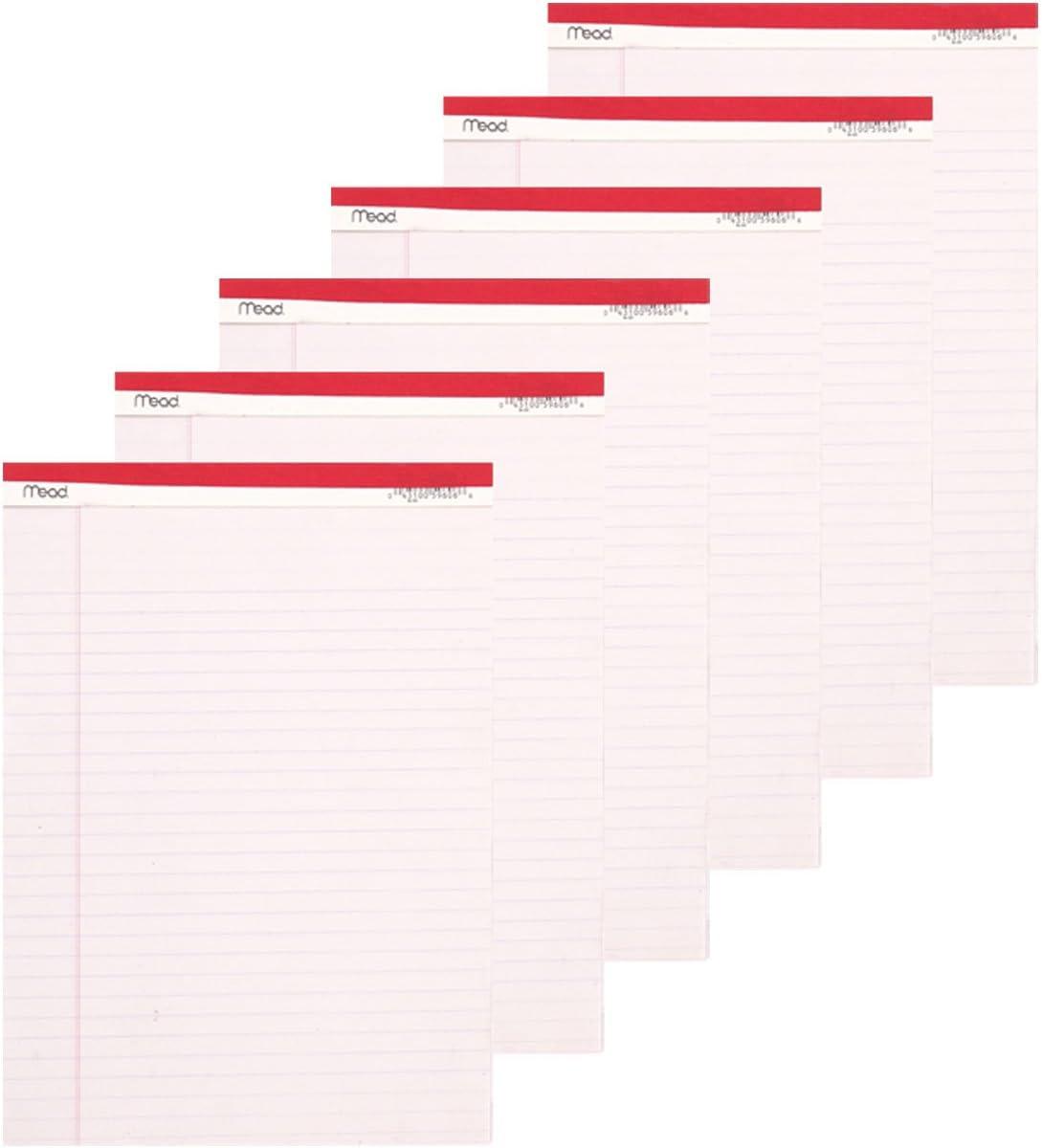 Enviroshades Legal Pad 8-1//2 x 11-3//4 Inches 50 Sheets Pink Pack of 3