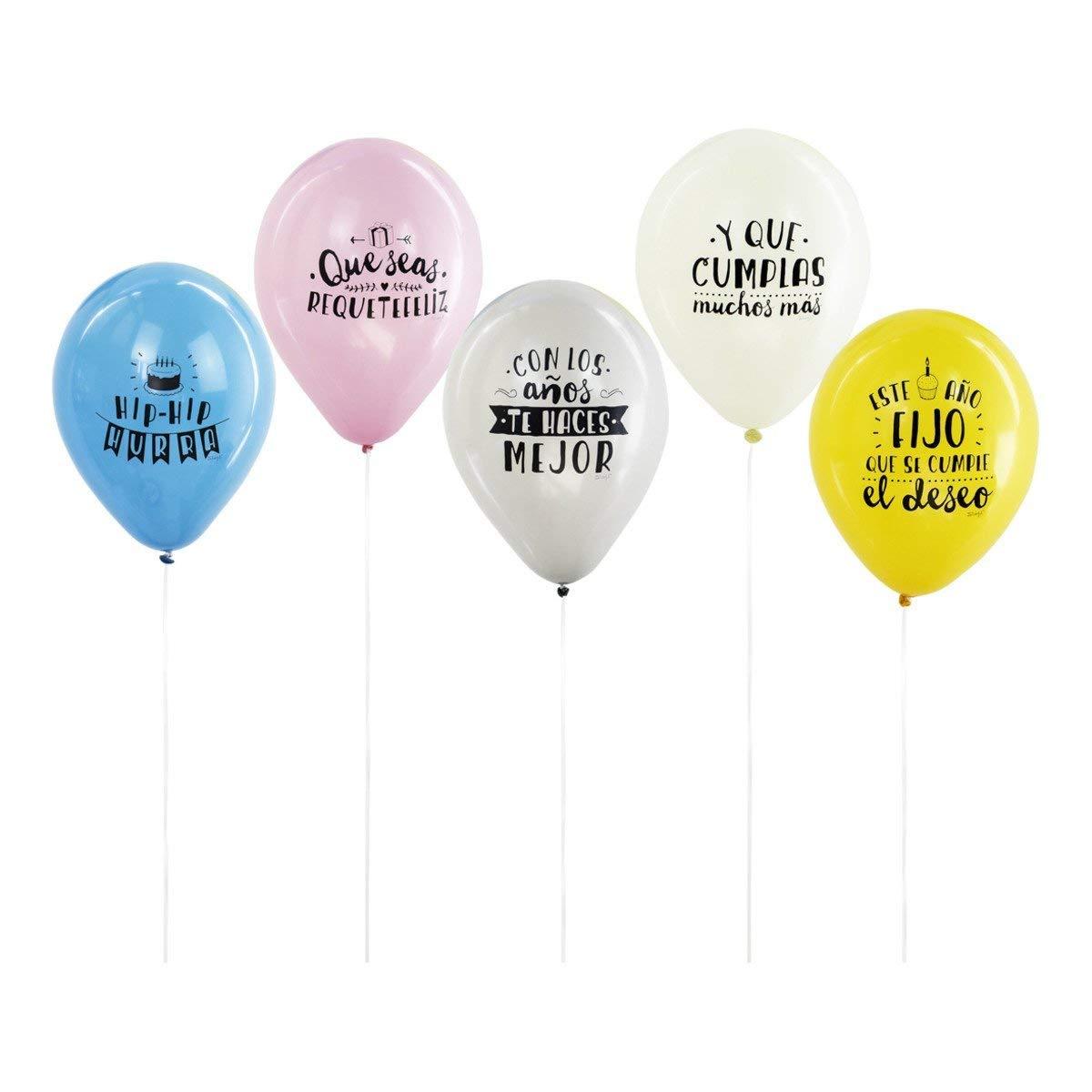 Amazon.com: Sr. Wonderful - Globos fríos cumpleaños: Kitchen ...