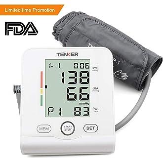 #13 TENKER Digital Home Blood Pressure Monitor-2 Users*90 FDA Approved