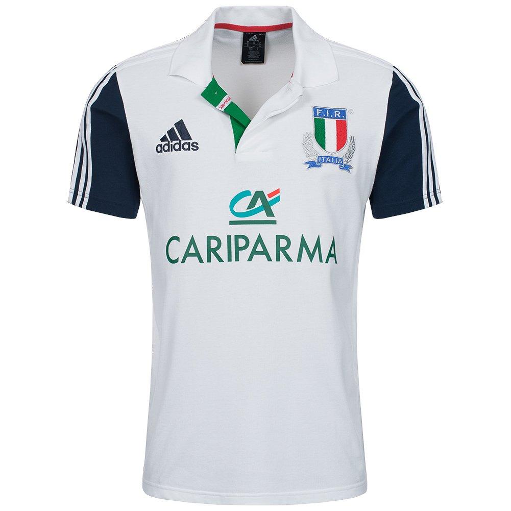 adidas Fir Italia Rugby - Polo de f46166, Todo el año, Color Weiß ...