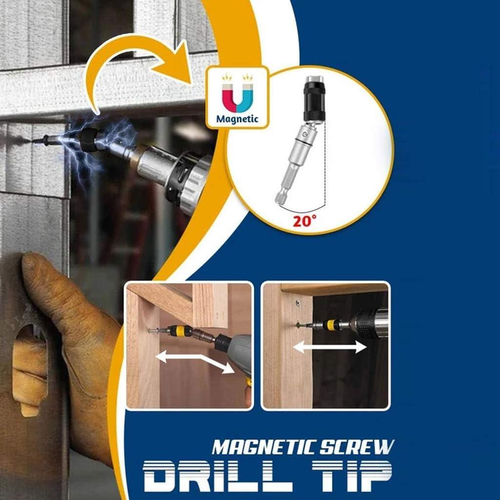ceng-AIO Impact Tough Bit Holder Magnetic Pivoting Bit Tip Holder Swivel Screw Drill Tip