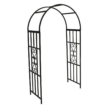 Selection Kensington - Arco de jardín de metal: Amazon.es: Jardín