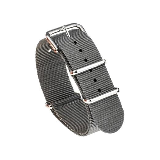 6 opinioni per TRUMiRR 20 mm Ballistic Nylon cinturini cinturino NATO con fibbia in acciaio