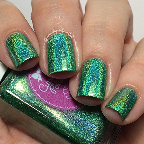 Leaf Me Alone - holographic nail polish by Cupcake Polish by Cupcake Polish