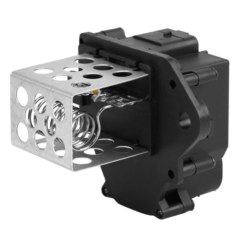 Hlyjoon 9658508980 HVAC R/ésistance de Relais de Moteur de Ventilateur de Voiture de Radiateur en ABS pour 207 307 308 2007 2008 2009 2010 2011 2011 2013 2013