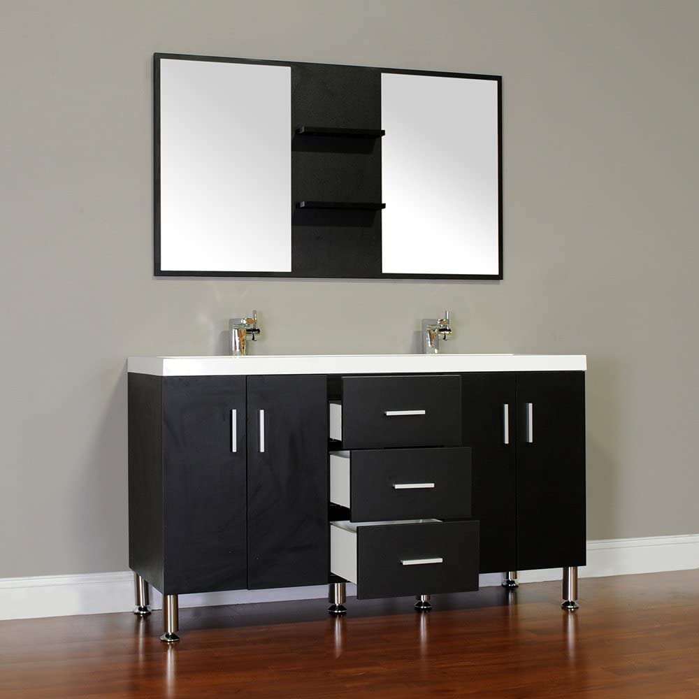 Black Alya Bath AT-8043-B-D Bathroom Vanity 56