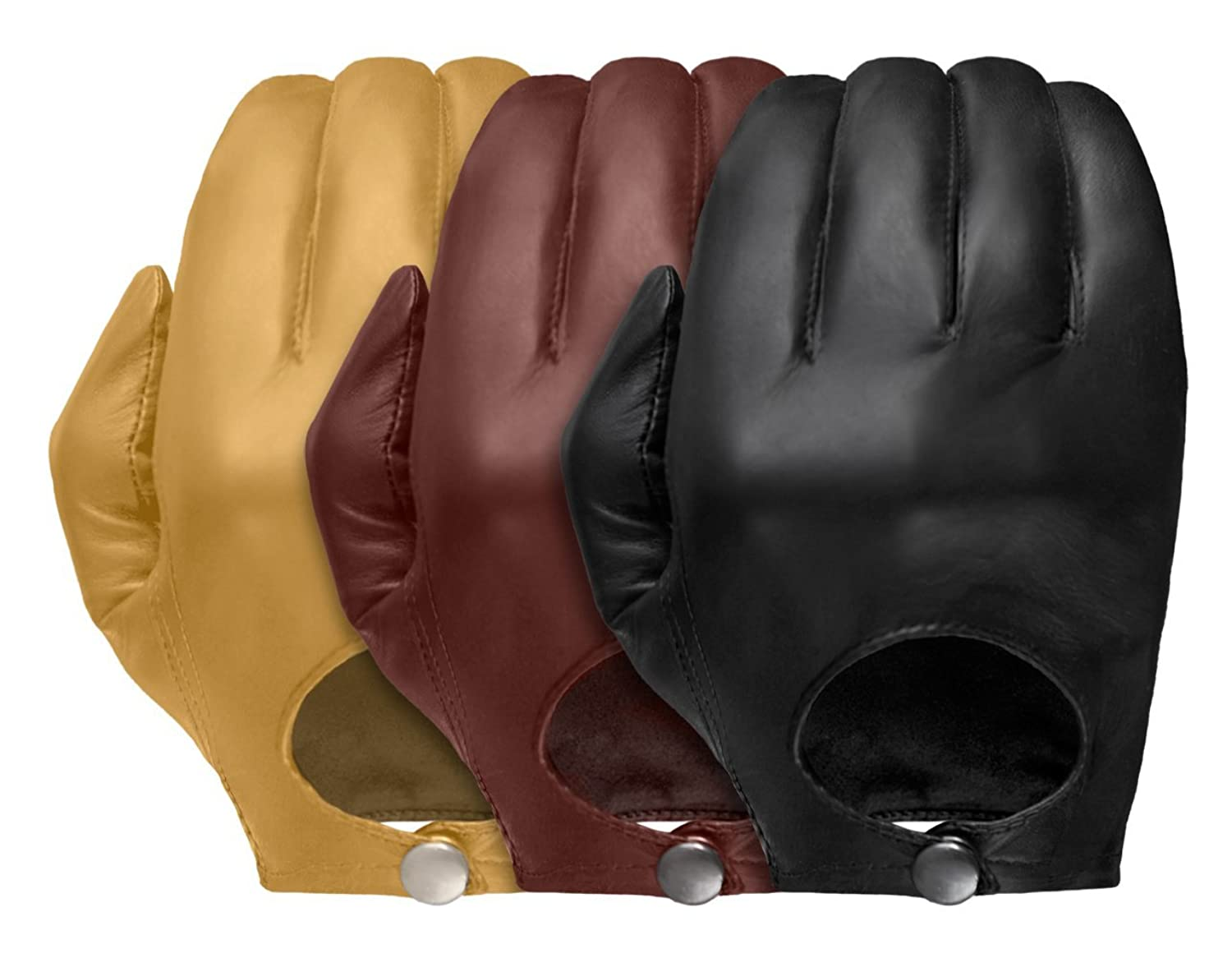 Wheelskins leather driving gloves - Tough Gloves Men S Ultra Thin Stealth Leather Gloves Size 6 Color Black At Amazon Men S Clothing Store Cold Weather Gloves