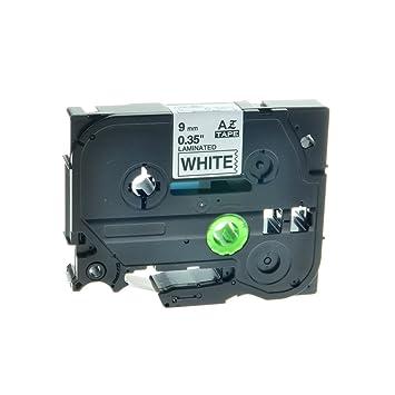 NineLeaf 5 X TZe TZ 231 TZe231 TZ231 Laminated Label Tape Compatible for Brother P-Touch PT-1000 PT-1010R PT-2030VP PT-2430PC PT-D600VP PT-E100 PT-H110 PT-D210 PT-D400-12mm x 8m Black on White