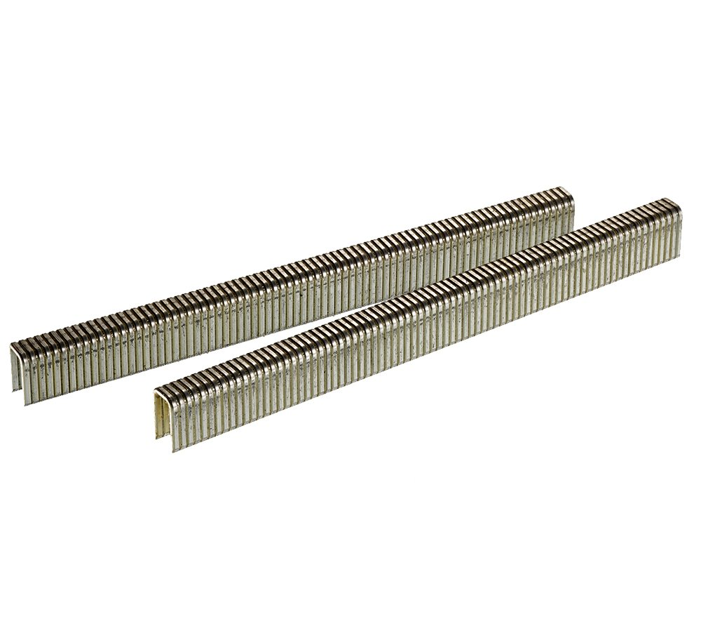 Senco L06BAB 18 Gauge by 1/4-inch Crown by 3/8-inch Electro Galvanized Staples (10,000 per box) by Senco